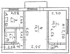 продажа двухкомнатной квартиры номер A-164187 в Приморском районе, фото номер 7
